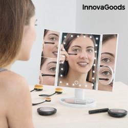 Espelho LED de aumento 4 em 1