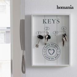 Quadro organizador de chaves