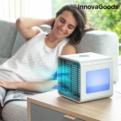 Mini climatizador a vapor...