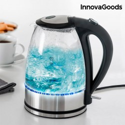 Fervedor de água com luz LED